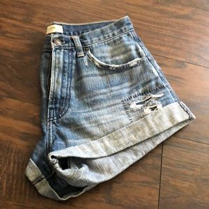 Abercrombie boyfriend shorts